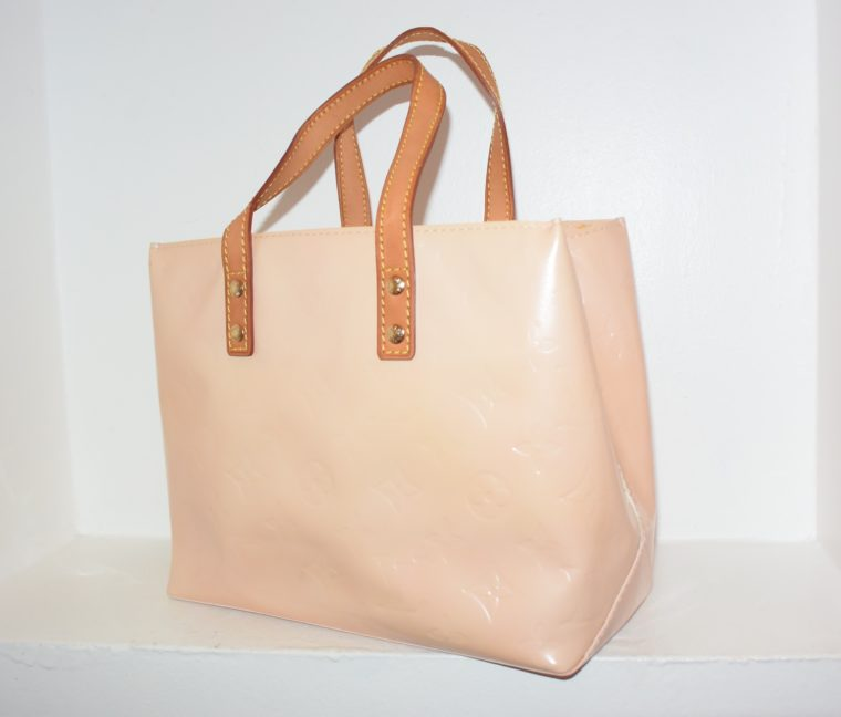 Louis Vuitton Tasche Reade PM rosa Vernis Leder-7545