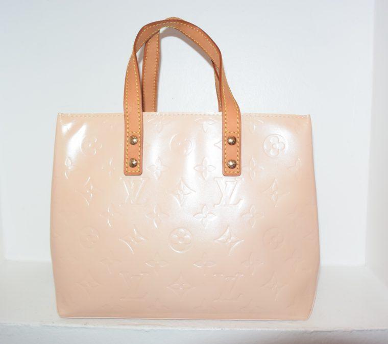 Louis Vuitton Tasche Reade PM rosa Vernis Leder-7539