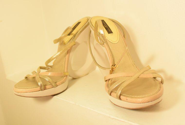 Louis Vuitton Pumps gold 38-7502