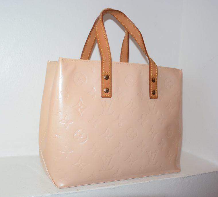 Louis Vuitton Tasche Reade PM rosa Vernis Leder-0