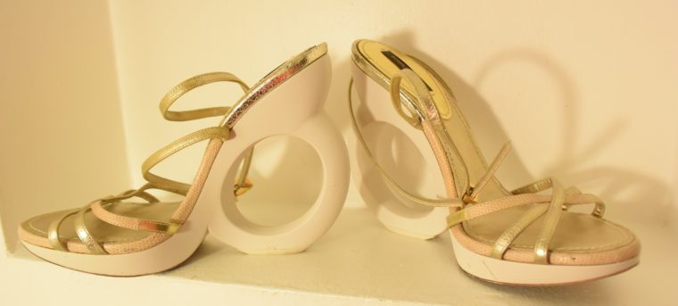 Louis Vuitton Pumps gold 38-7497