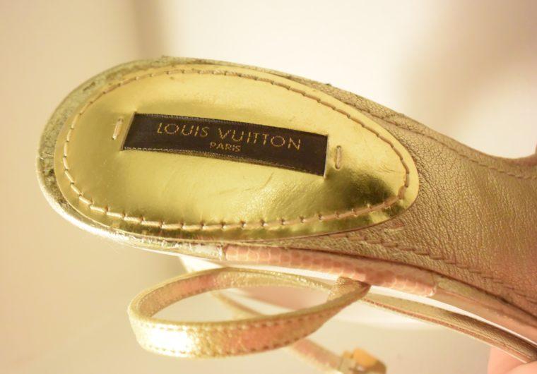 Louis Vuitton Pumps gold 38-7501