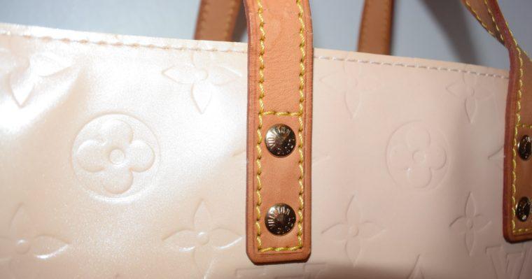 Louis Vuitton Tasche Reade PM rosa Vernis Leder-7542