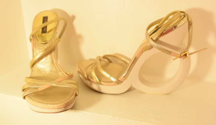 Louis Vuitton Pumps gold 38-7503