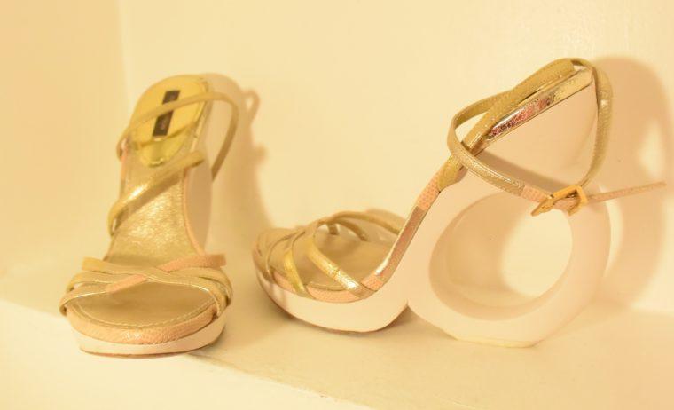 Louis Vuitton Pumps gold 38-7499