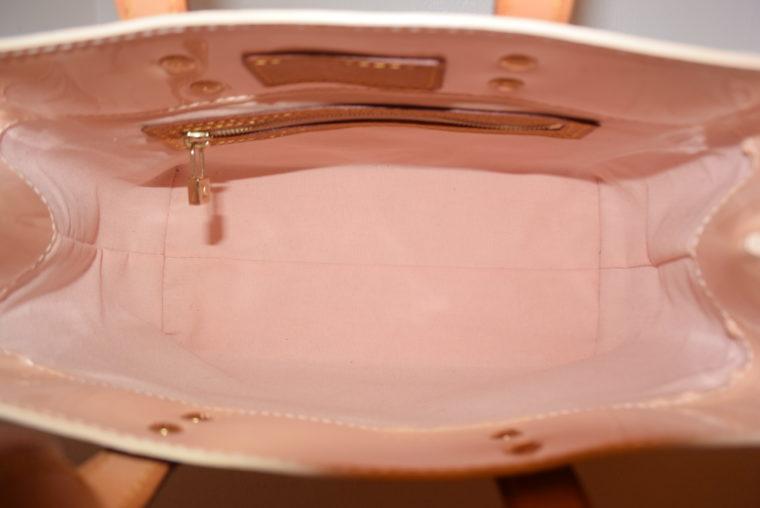 Louis Vuitton Tasche Reade PM rosa Vernis Leder-7551