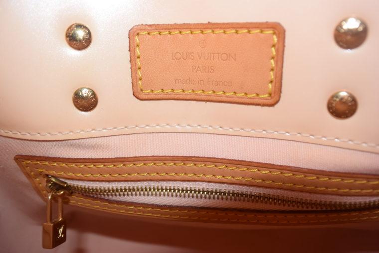 Louis Vuitton Tasche Reade PM rosa Vernis Leder-7547