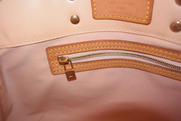 Louis Vuitton Tasche Reade PM rosa Vernis Leder-7548