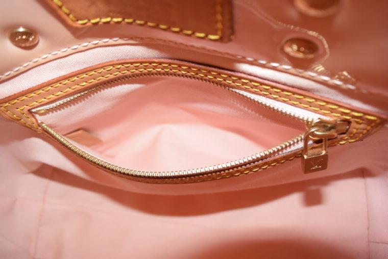 Louis Vuitton Tasche Reade PM rosa Vernis Leder-7549