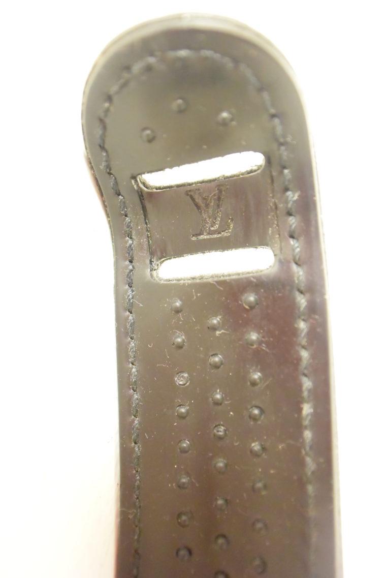 Louis Vuitton Riemen Rutschstopper Epi Leder schwarz-7439