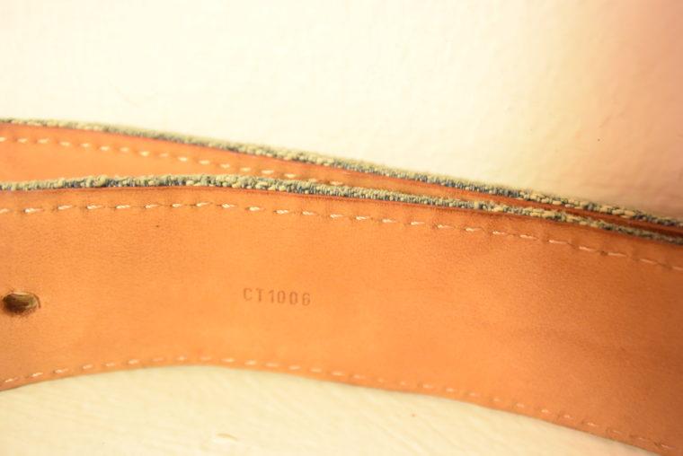 Louis Vuitton Gürtel Denim 100cm-7443