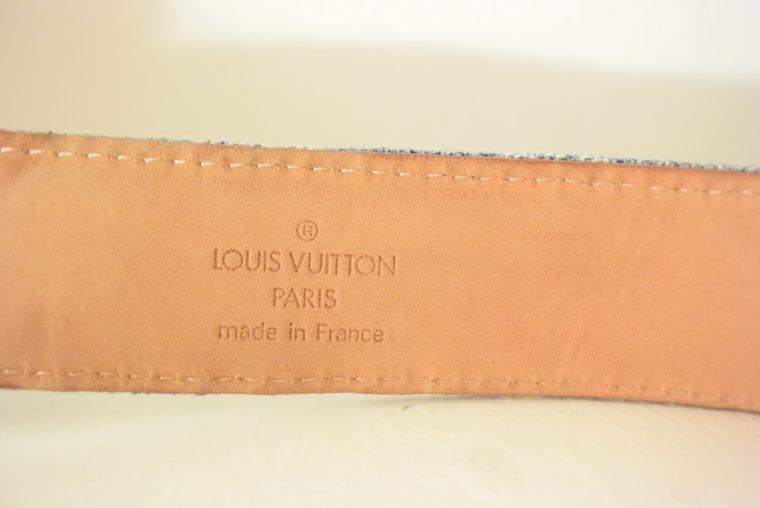 Louis Vuitton Gürtel Denim 100cm-7448