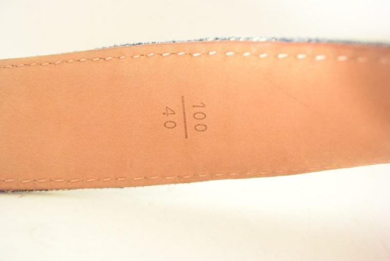 Louis Vuitton Gürtel Denim 100cm-7444