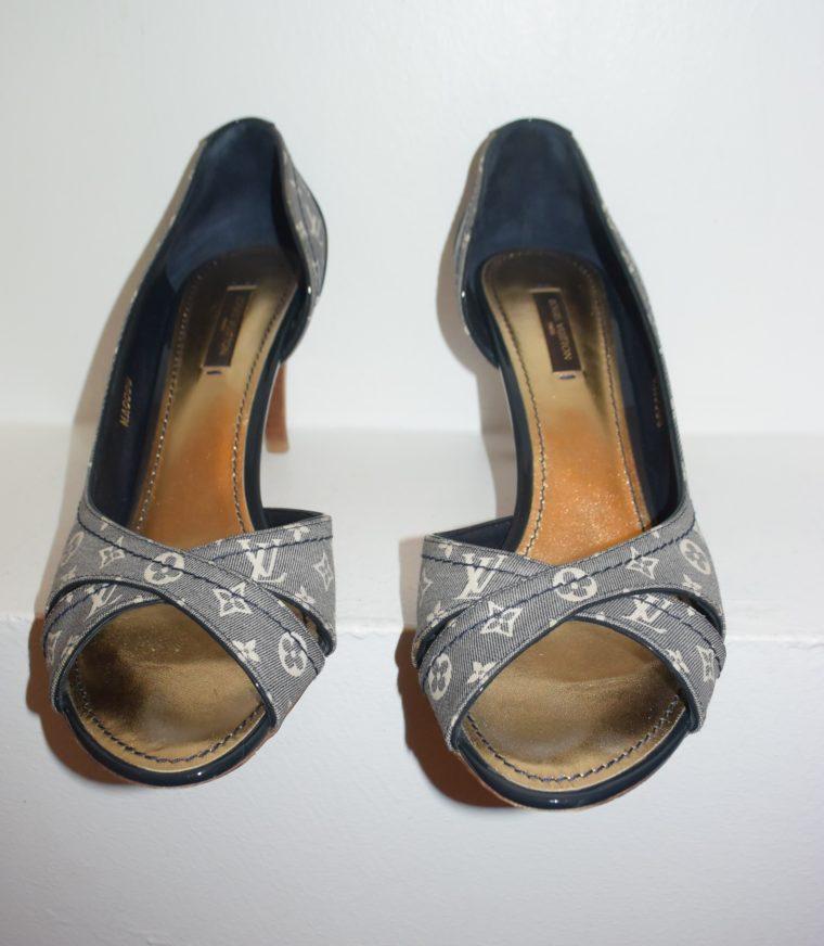 Louis Vuitton Pumps Idylle blau 39-7632