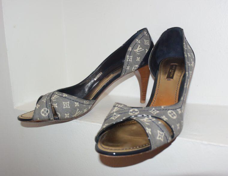 Louis Vuitton Pumps Idylle blau 39-7634