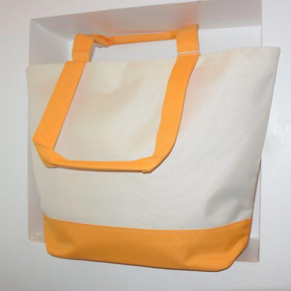 NEU große Tommy Hilfiger Tasche gelb/weiß