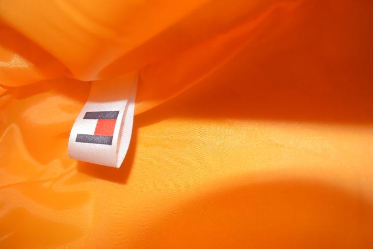 NEU große Tommy Hilfiger Tasche gelb/weiß-7660