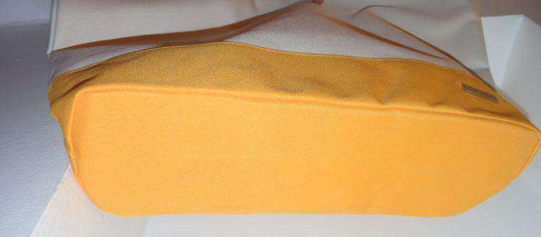 NEU große Tommy Hilfiger Tasche gelb/weiß-7657
