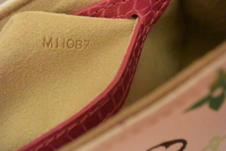 Louis Vuitton Tasche Marilyn Multicolor weiß Krokodilleder-7700