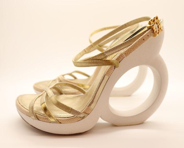 Louis Vuitton Pumps gold 38-0