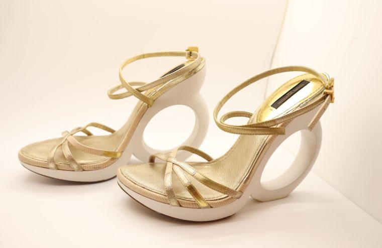 Louis Vuitton Pumps gold 38-14650