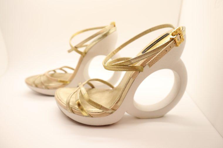 Louis Vuitton Pumps gold 38-14653