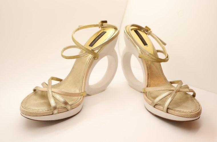 Louis Vuitton Pumps gold 38-14656