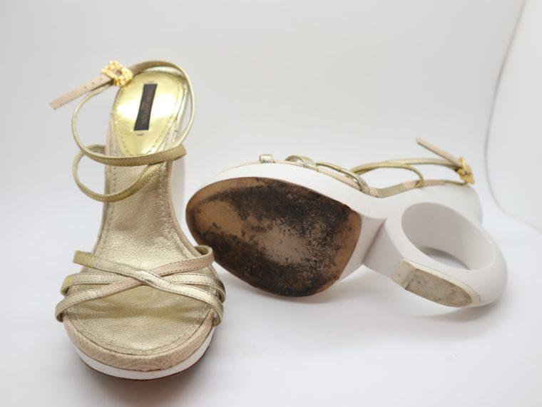 Louis Vuitton Pumps gold 38-14657