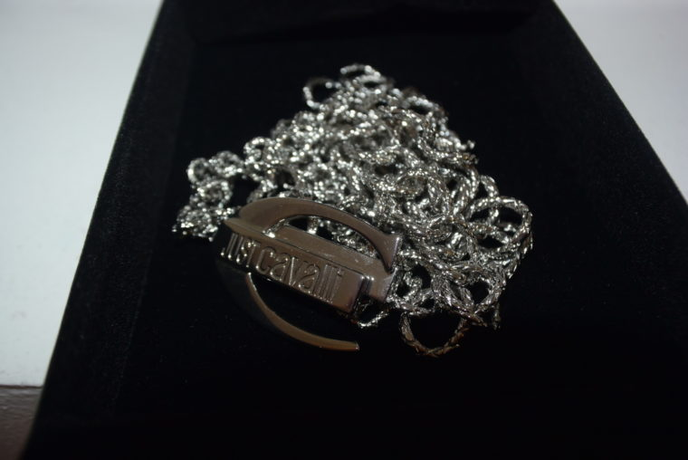 Just Cavalli Halskette silber lang-7954