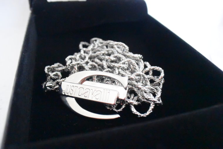 Just Cavalli Halskette silber lang-7950