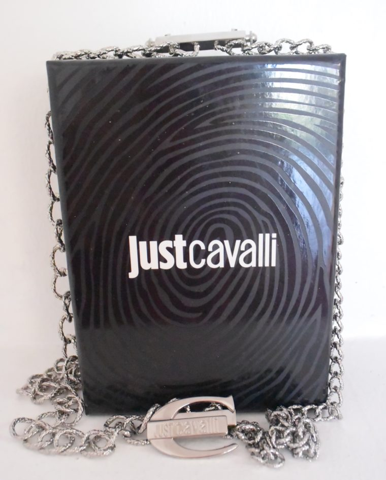 Just Cavalli Halskette silber lang-7953
