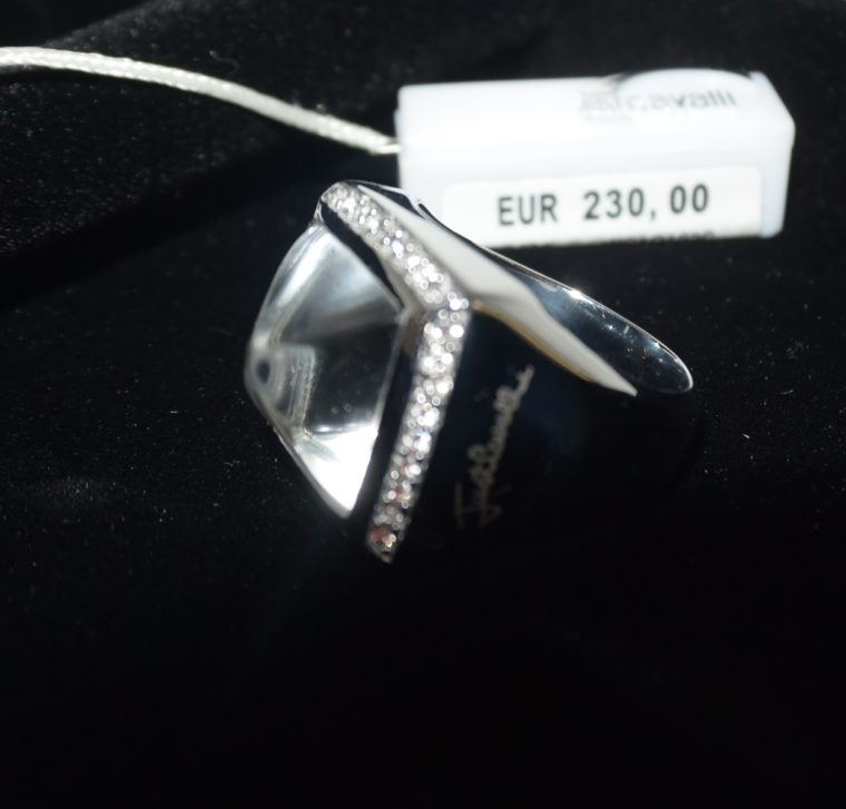 Just Cavalli Ring silber-7961