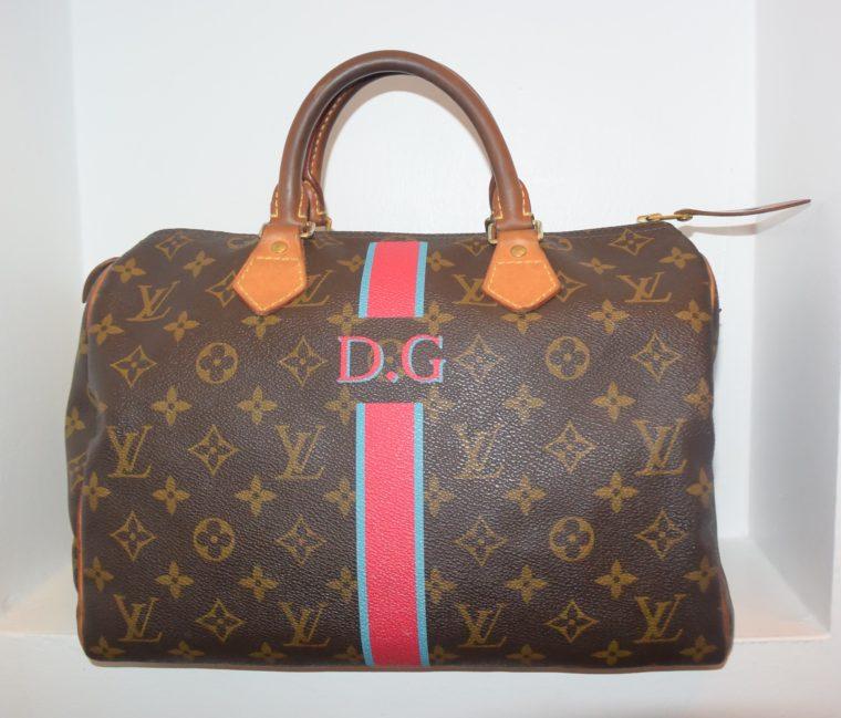 Louis Vuitton Tasche Speedy 30 Mon Monogram-8414