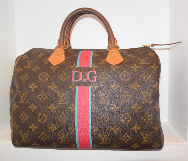 Louis Vuitton Tasche Speedy 30 Mon Monogram-8416