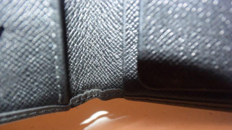 Louis Vuitton Geldbörse Taschenagenda Taigaleder schwarz-8511