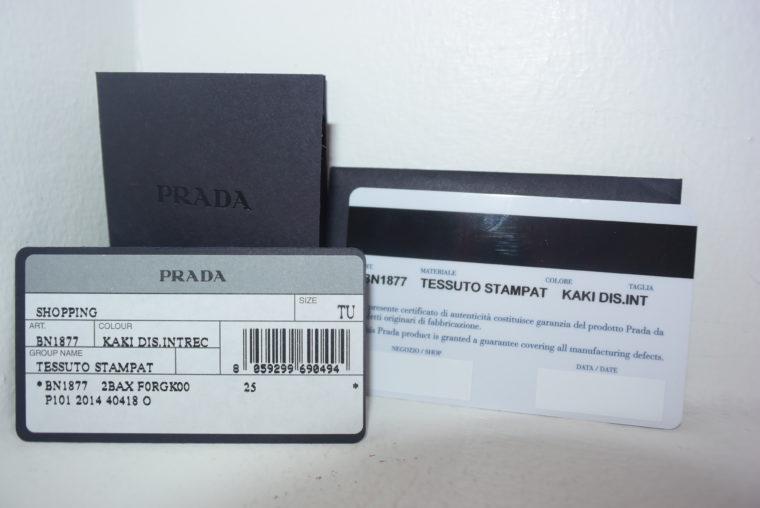 Neu Prada Tasche bunt-8551