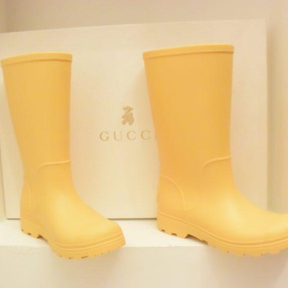Gucci Gummistiefel Kinder gelb 31
