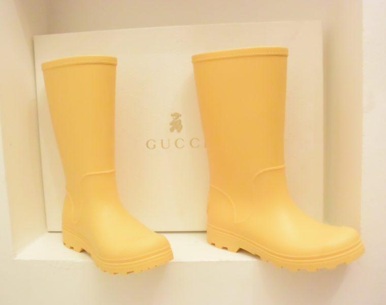 Gucci Gummistiefel Kinder gelb 31-0
