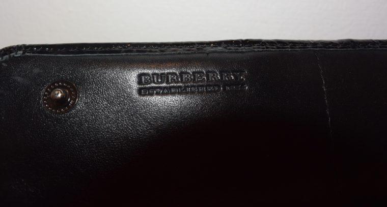 Burberry Geldbörse schwarz beige-8591