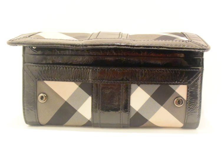 Burberry Geldbörse schwarz beige-8589