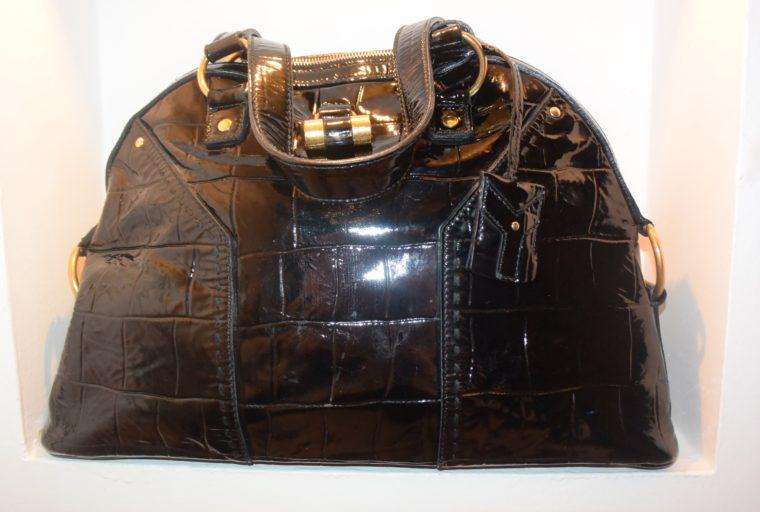 Yves Saint Laurent Tasche Muse schwarz-8626