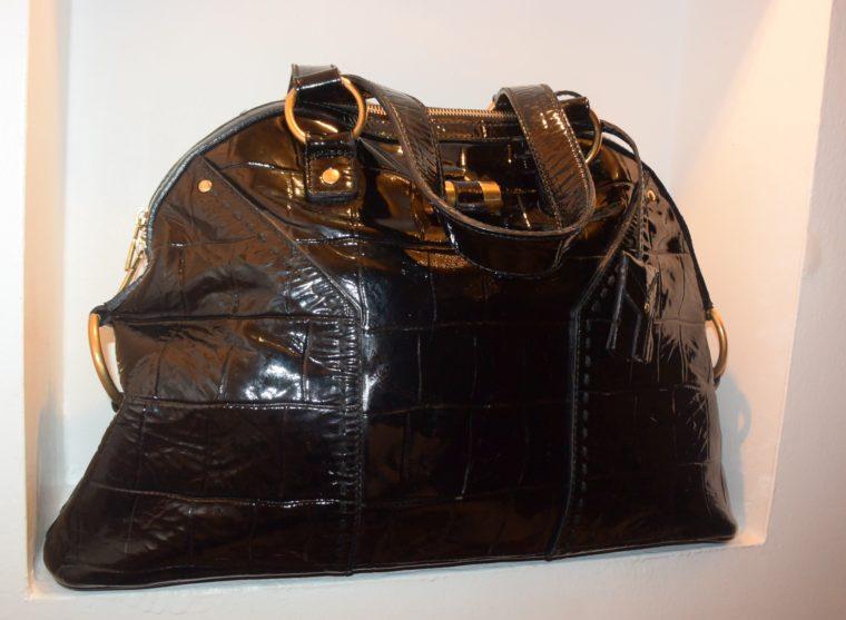 Yves Saint Laurent Tasche Muse schwarz-8629