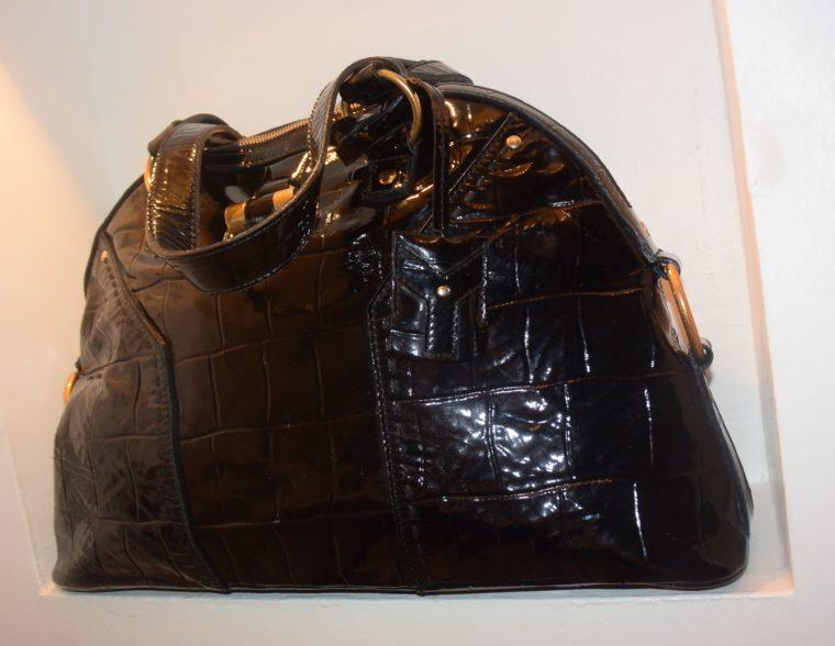 Yves Saint Laurent Tasche Muse schwarz-8624