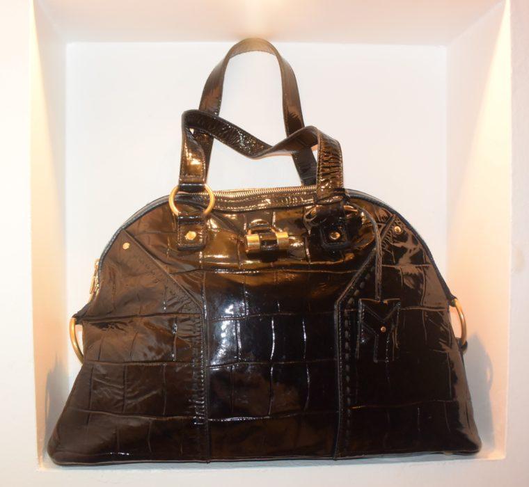 Yves Saint Laurent Tasche Muse schwarz-8627