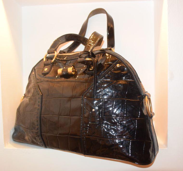 Yves Saint Laurent Tasche Muse schwarz-0