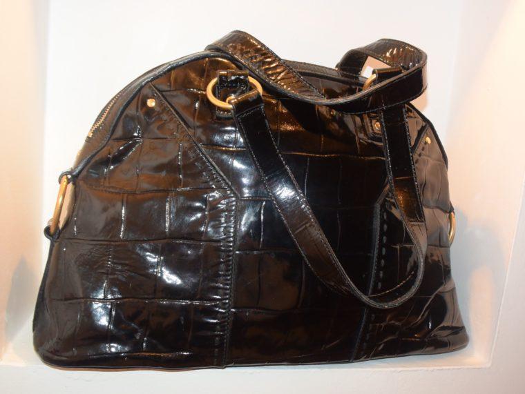 Yves Saint Laurent Tasche Muse schwarz-8628