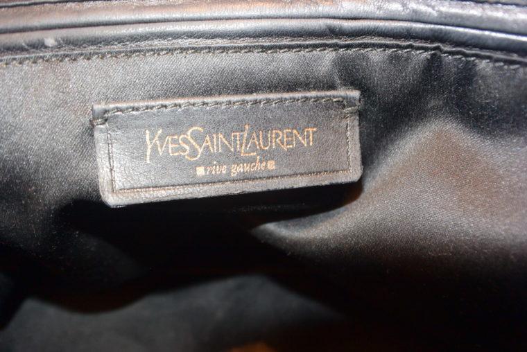Yves Saint Laurent Tasche Muse schwarz-8622