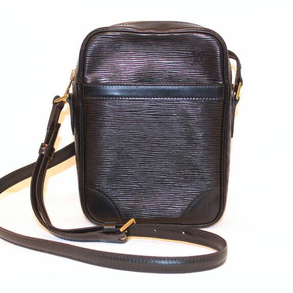 Louis Vuitton Tasche Danube Epileder schwarz