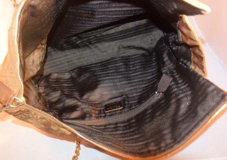 Prada Tasche Nylon beige-9039