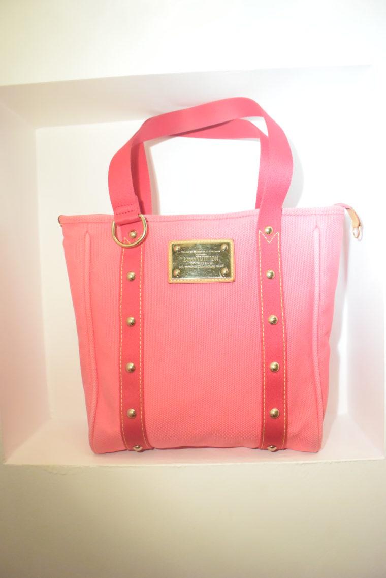 Louis Vuitton Tasche Cabas MM pink-9092
